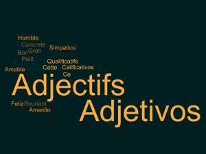 Adjetivos en francés