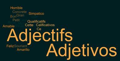 adjetivos en frances