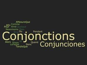 Conjunciones en francés