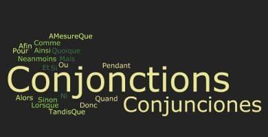 conjunciones en frances
