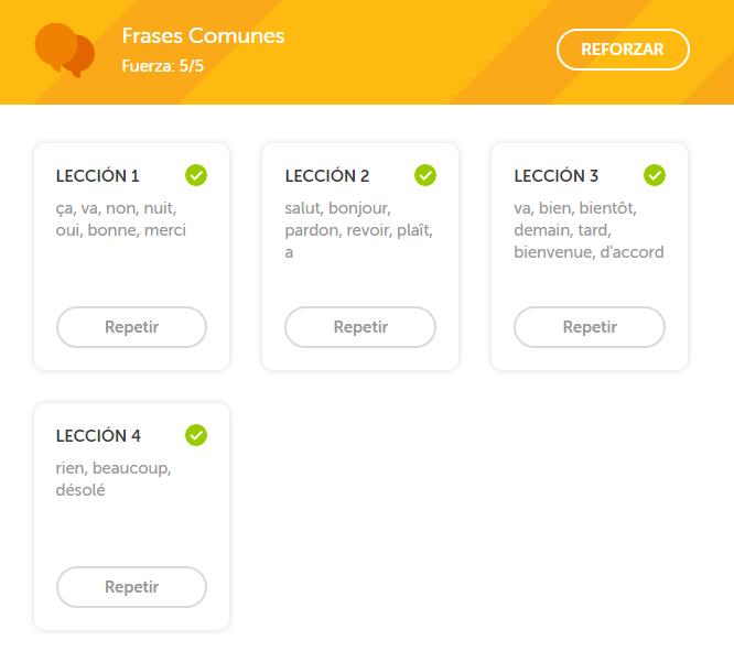 Frases Comunes En Francés Idioma Francés